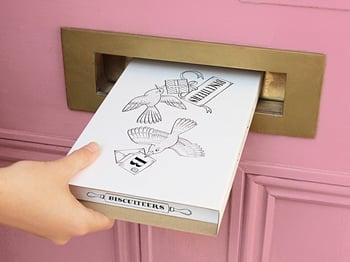 Biscuiteers delivery box