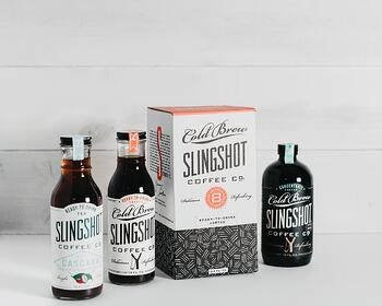 Cold Bres Slingshot coffee